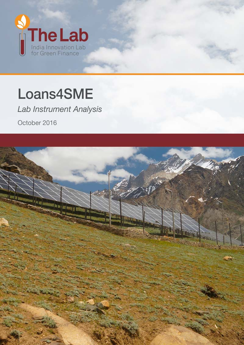 Loans4SME- Lab Instrument Analysis