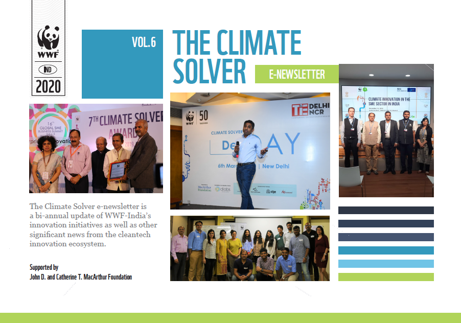Climate Solver e-Newsletter | Volume 6